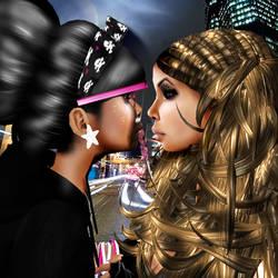 GiGi and NaYa by micheleizda1