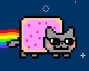 Cool nyan cat by Devil-Girl465