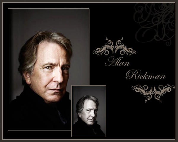 Alan Rickman by PrincessofMadness