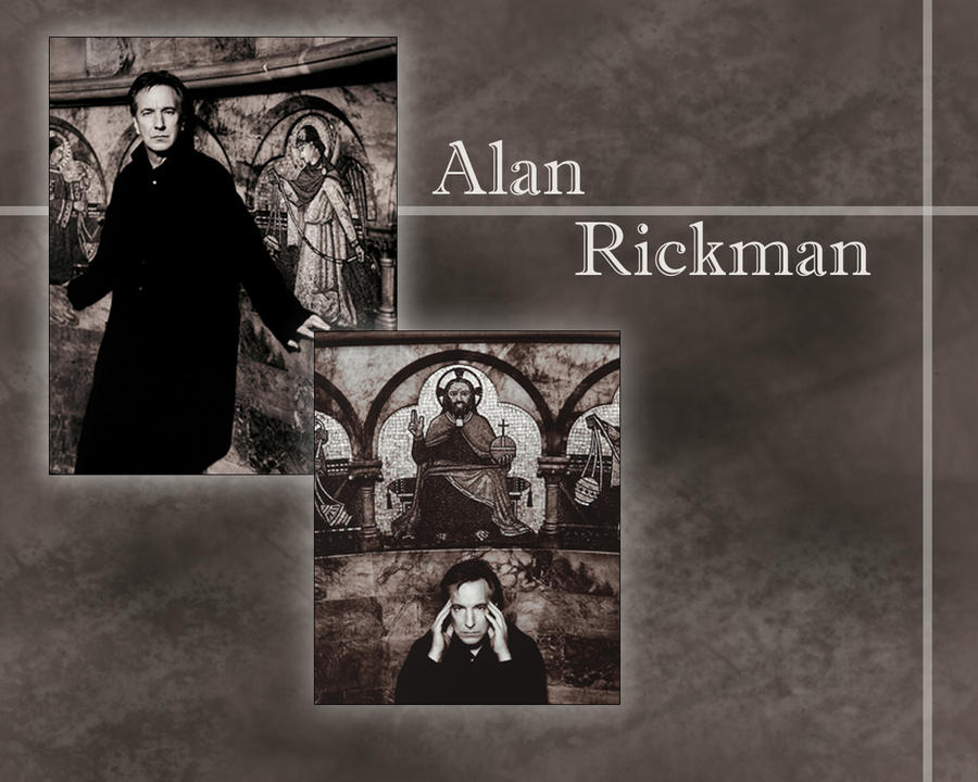 A. Rickman by PrincessofMadness