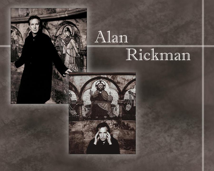 A. Rickman by PrincessofMadness