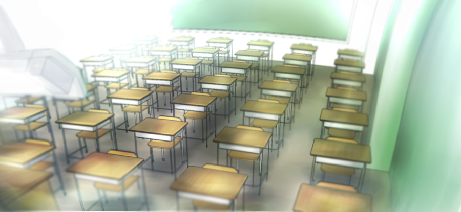 Empty Classroom By Anonamos701