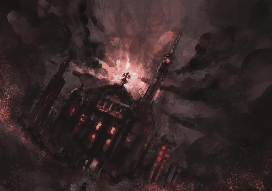 Scarlet Devil Mansion by Devil