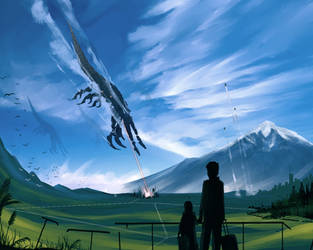 Leaving Earth by anonamos701