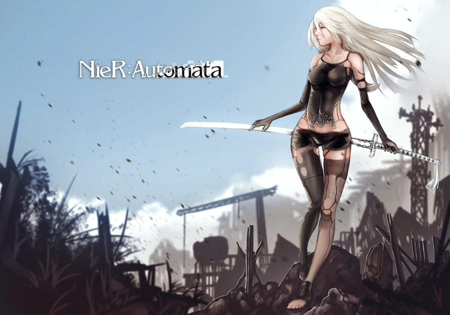 Nier: Automata - A2 by anonamos701