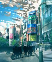 Shibuya by anonamos701