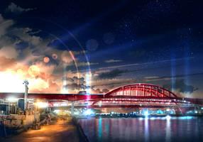 Fuyuki City Bridge by anonamos701