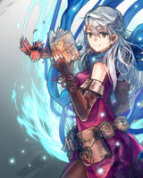 Fire Emblem Heroes - Micaiah by anonamos701