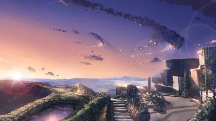 Fuji Sunset by anonamos701