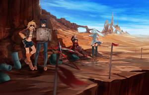 RWBY - Desert Explorers by anonamos701
