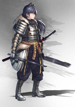 RWBY - Samurai Ryoushi by anonamos701