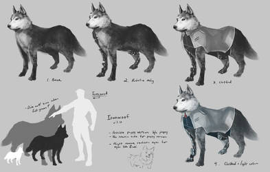 RWBY - Ironwoof by anonamos701