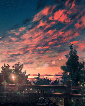 Crimson Evening