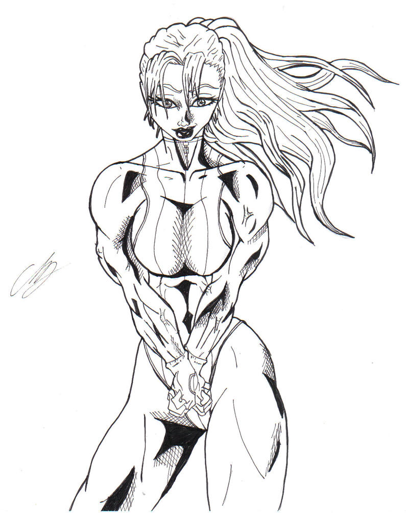 She hulk by kingvego on deviantart for She hulk coloring pages