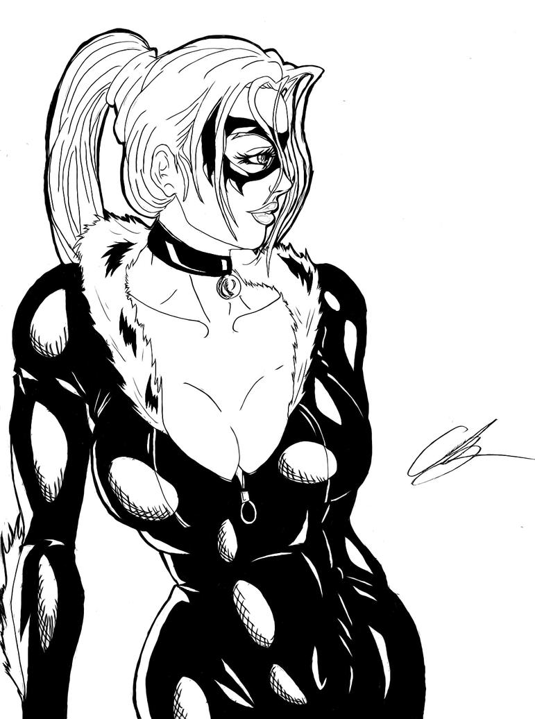Mary free coloring pages on art coloring pages - Black Cat Inked By Kingvego On Deviantart
