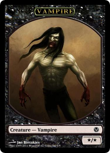 Vampire Token by KingVego