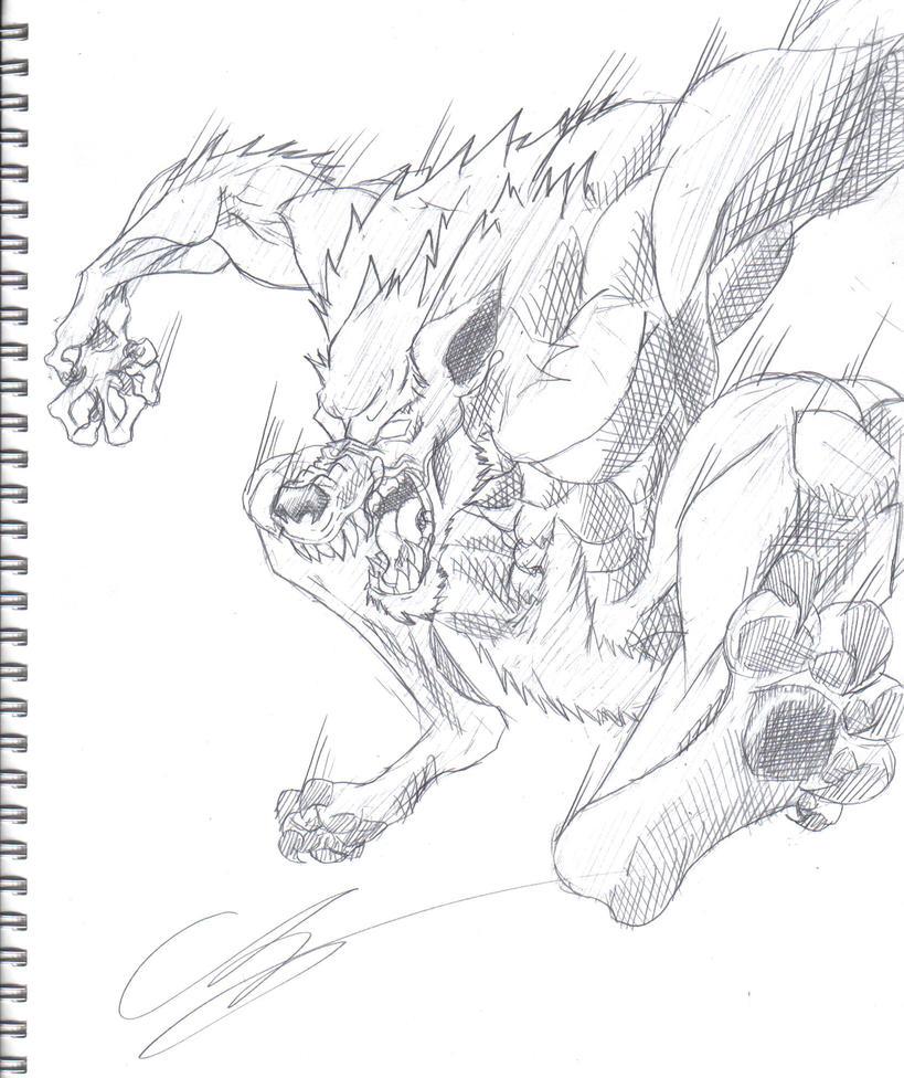 The Werewolf by KingVego