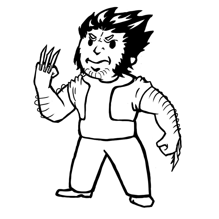 fallout vault boy coloring pages - photo#11