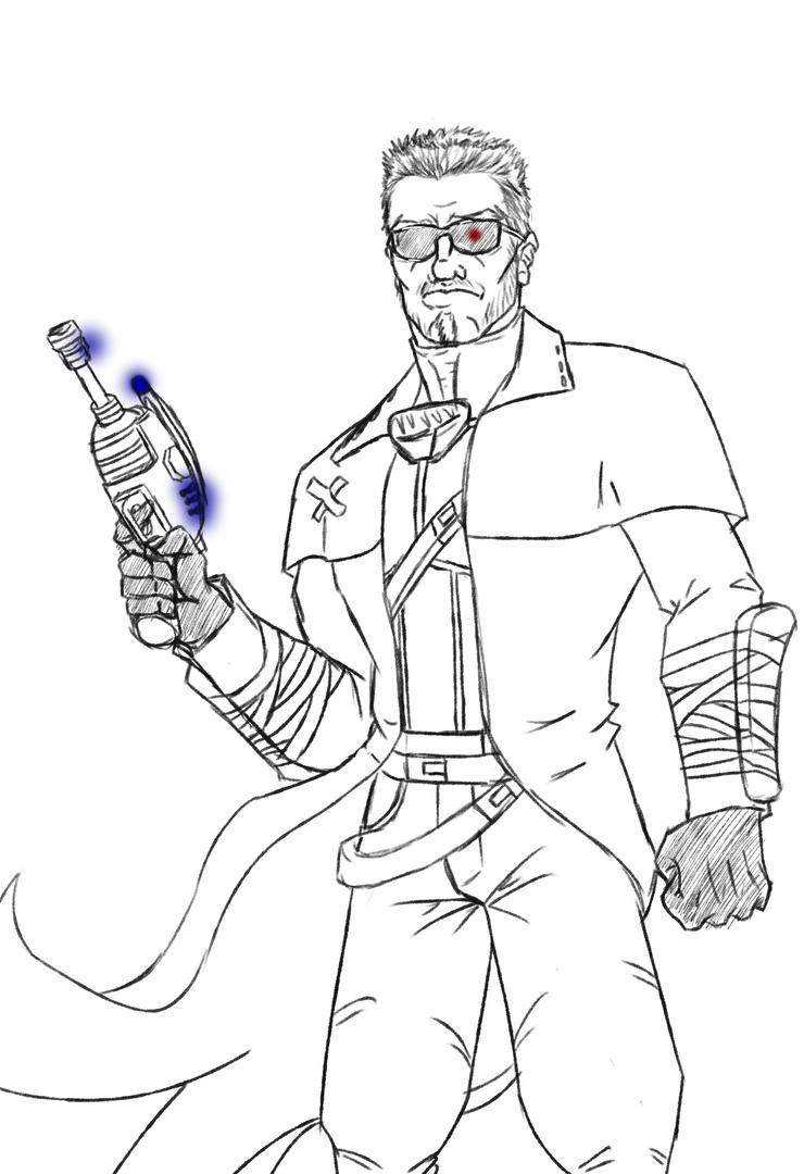 Adam The Terminator by KingVego