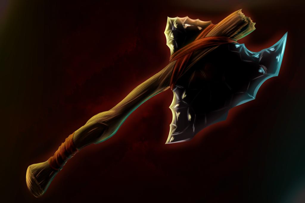 Animus Artwork-Ax by KingVego