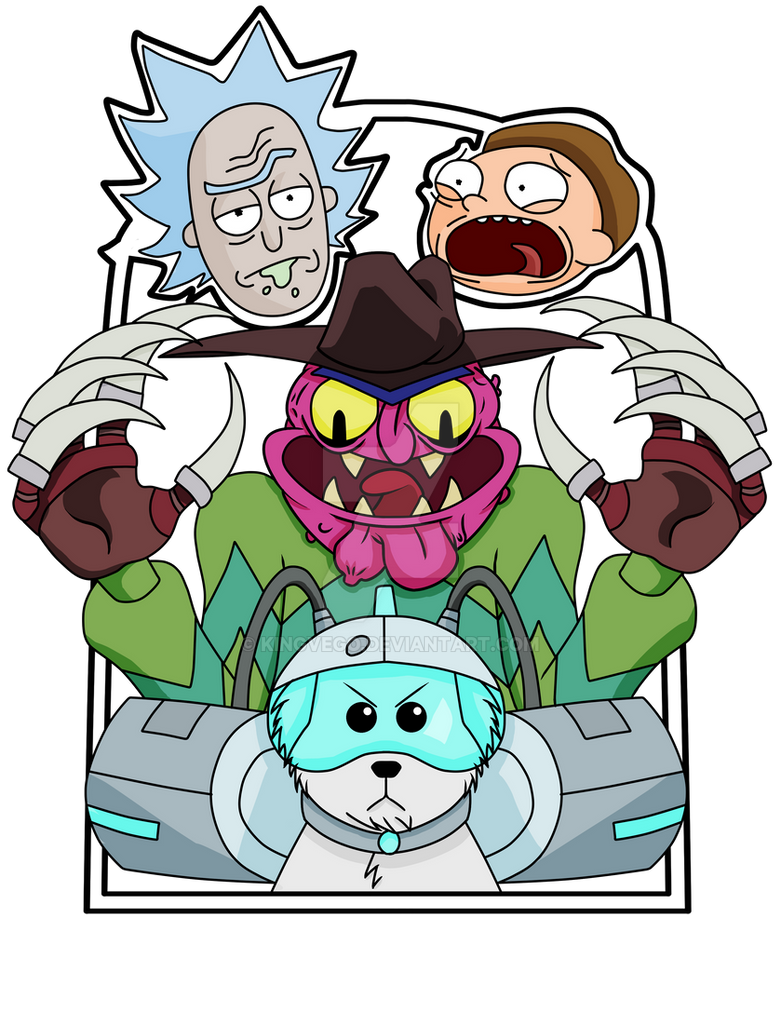 Rick and Morty Pin #2 by KingVego