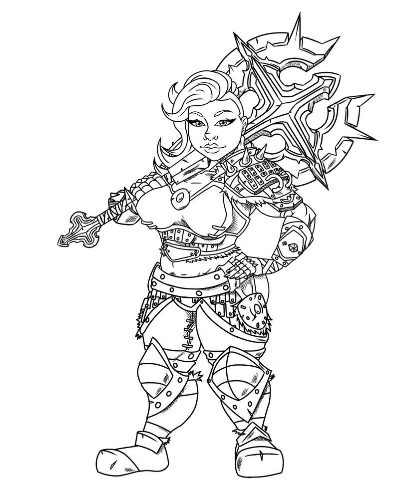 Commission - Wilma by KingVego