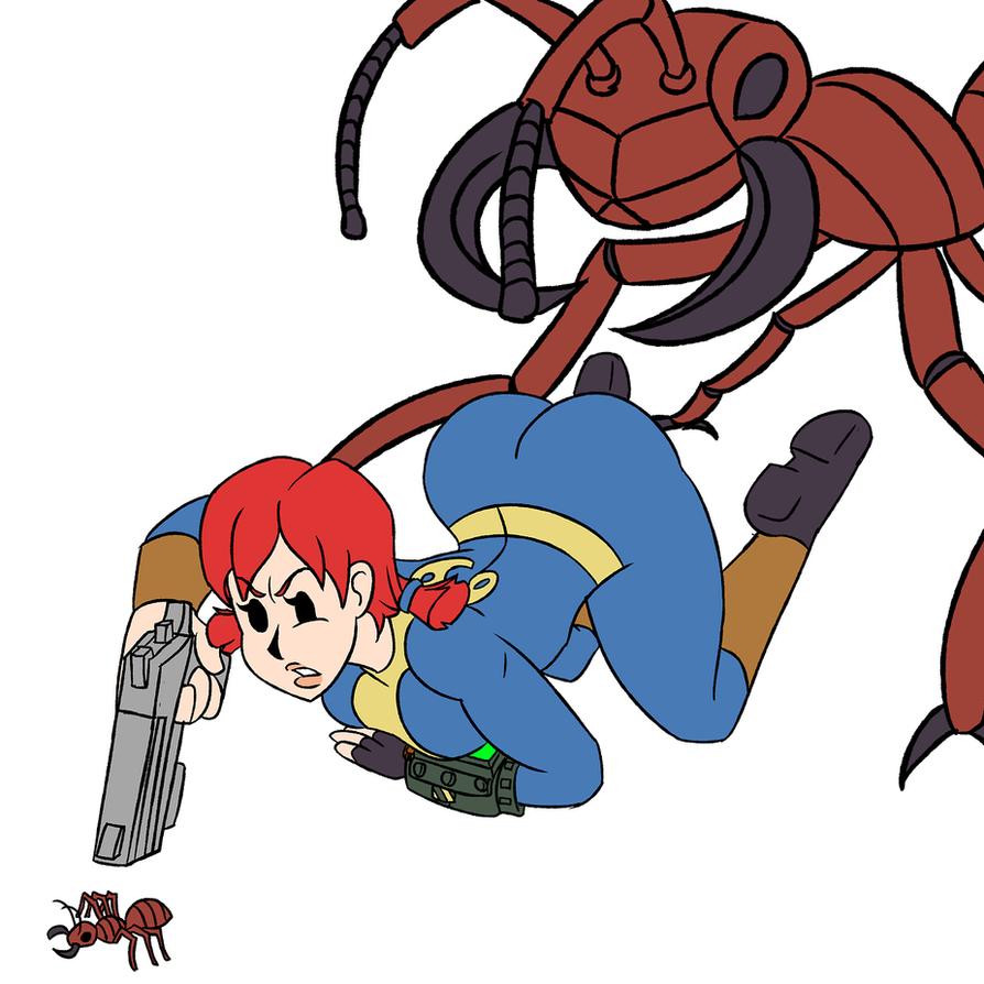 Beware of Ants by KingVego