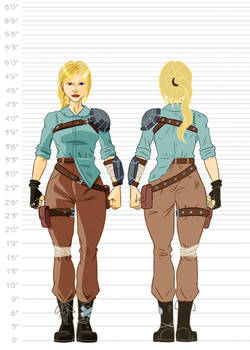Fallout Cascadia Concept Art - Lilly