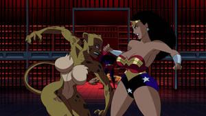 Edit-Thicc Cheetah X Wonder Woman