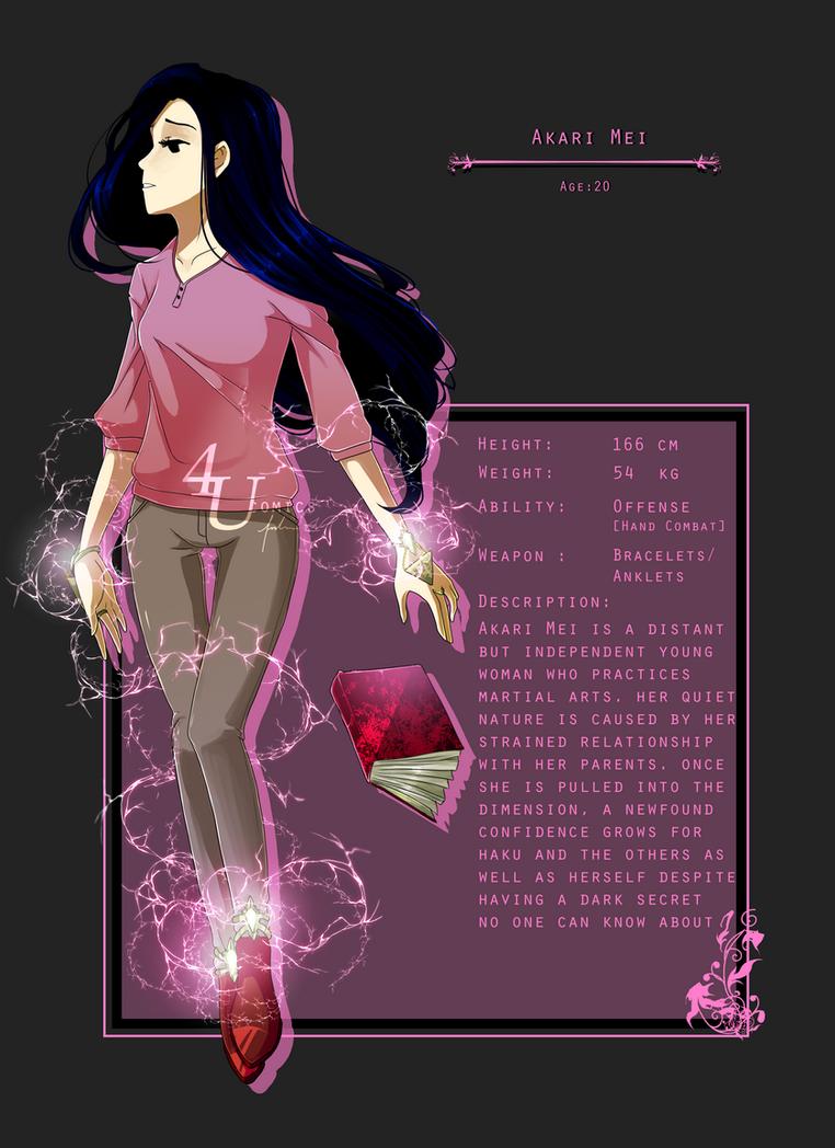 Akari Mei by 4UComics