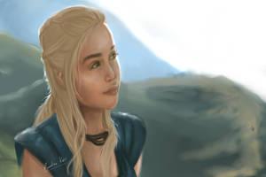 Daenerys by cahrolzit