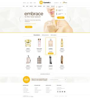 Cosmetico - Beauty Shop PSD