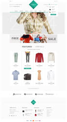 Modello - eCommerce PSD Template by bcubepl