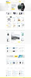 Electro - Electronics eCommerce PSD by bcubepl