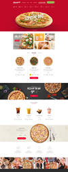 Pizzaro - Food Online Ordering eCommerce PSD by bcubepl