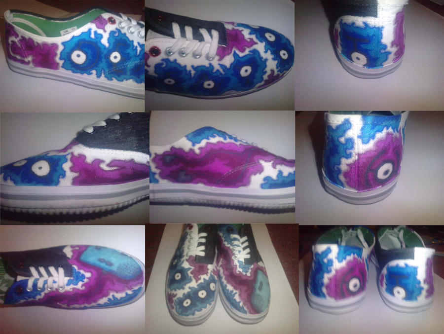Pokemon CreepyPasta Shoes by Hybrid-Trainer