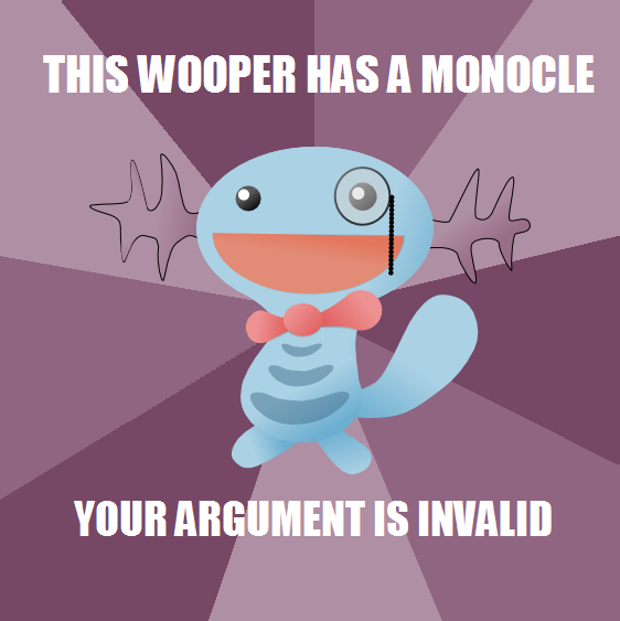 This Wooper...