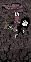 Madotsuki, Poniko and Uboa by Genkidown