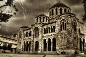 Greek Church by dikoxx