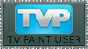 TV Paint Stamp by Spazzel