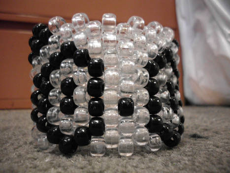 Clear Panda cuff