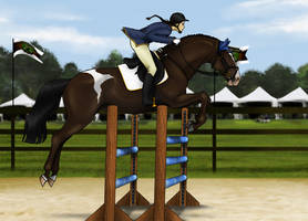 Back on the Saddle by Neko-Raccoon