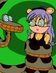 Kaa Hypnotizes Mina