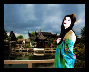 American Geisha by nickgmonster