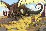 dragon standoff final by travisJhanson