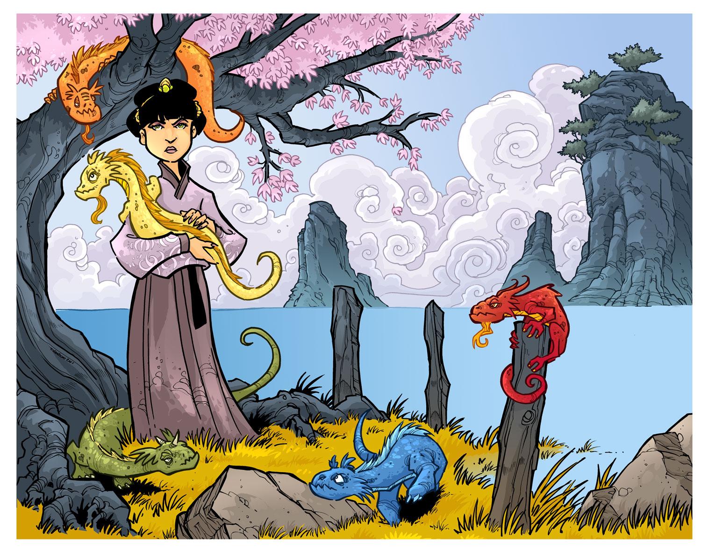 Long Mu Mom of 5 Dragons Fin