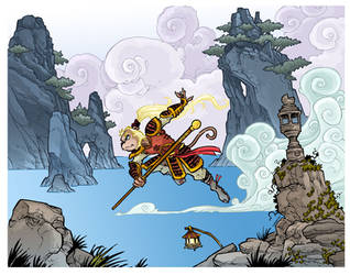 the Monkey King finished by travisJhanson