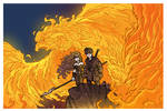 Phoenix rising by travisJhanson