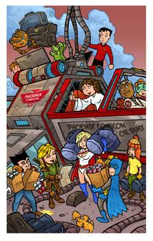 Phoenix Comic Con Brochure Cover