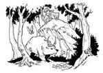 the Forest Walker by travisJhanson